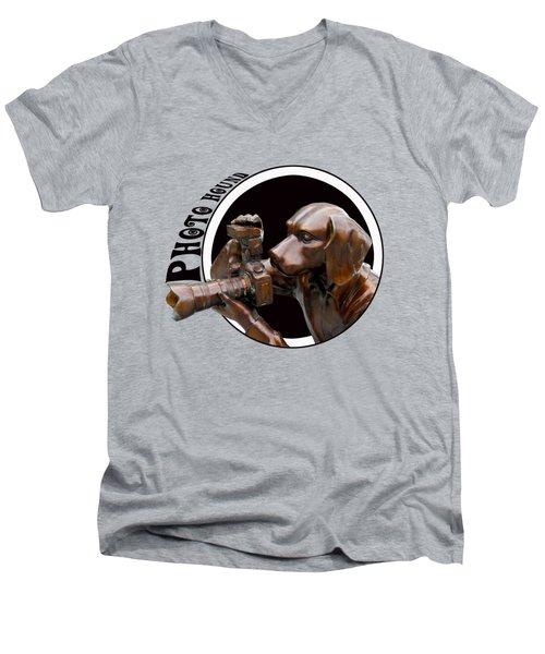 Photo Hound Men's V-Neck T-Shirt