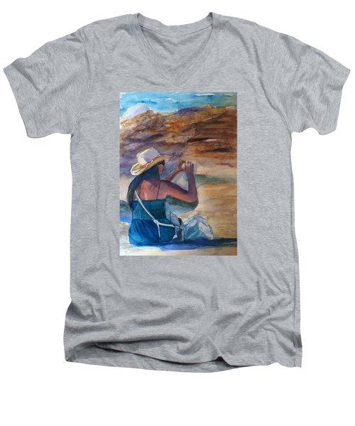 Photo Shoot Men's V-Neck T-Shirt
