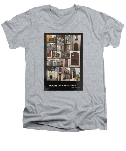 Photograph Men's V-Neck T-Shirt by Lucia Grilletto