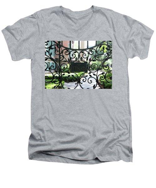 Pi Kappa Phi Gate Men's V-Neck T-Shirt