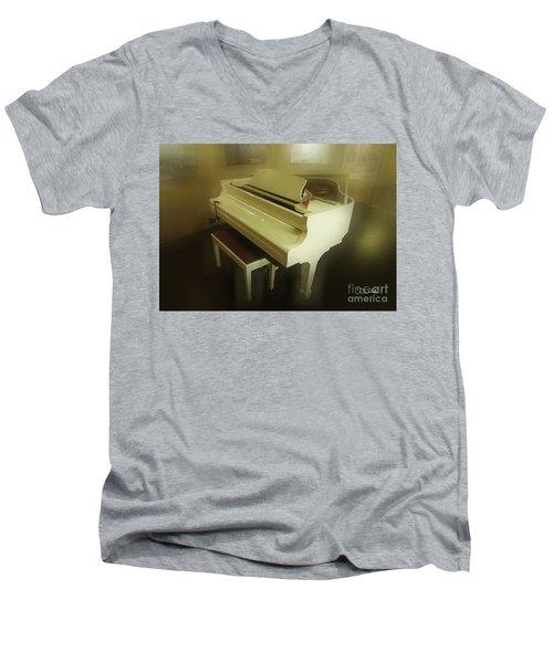 Piano Dream Men's V-Neck T-Shirt