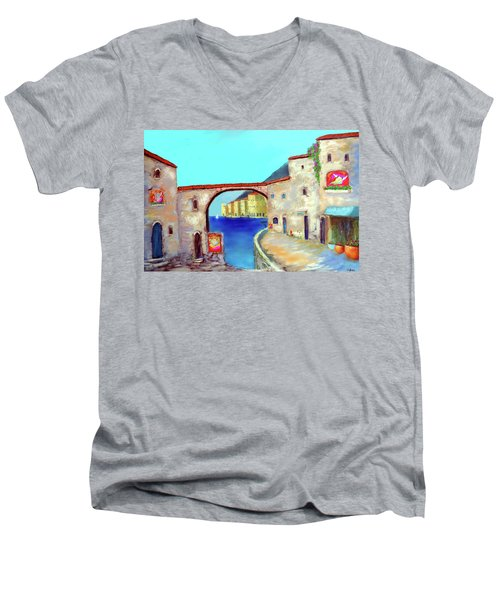 Piazza Del La Artista Men's V-Neck T-Shirt