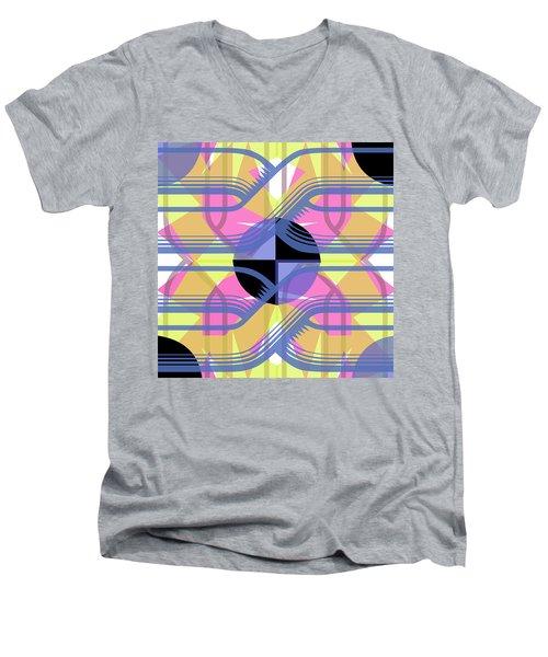 Pic12_coll2_14022018 Men's V-Neck T-Shirt