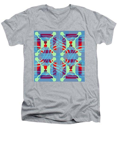 Pic14_coll1_14022018 Men's V-Neck T-Shirt