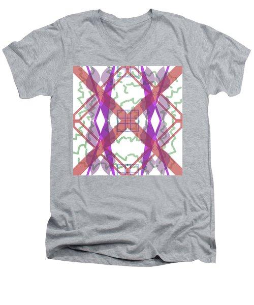 Pic2_coll2_14022018 Men's V-Neck T-Shirt