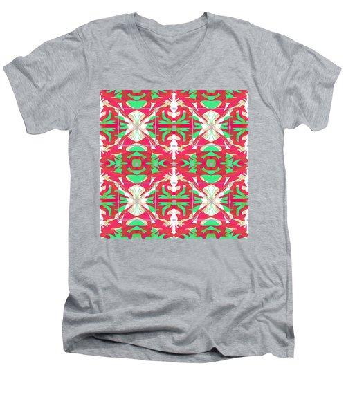 Pic4_coll1_07072018 Men's V-Neck T-Shirt