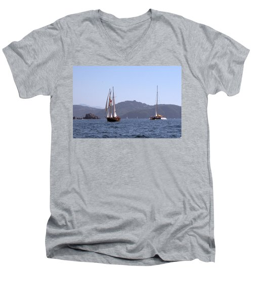 Picante And Patricia Belle Men's V-Neck T-Shirt