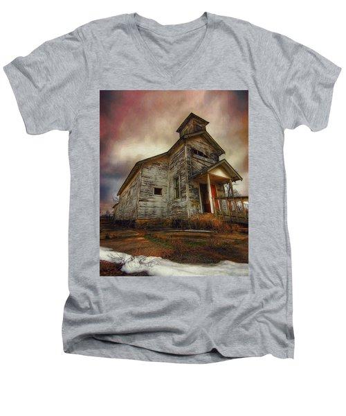 Picher Christian Church Men's V-Neck T-Shirt