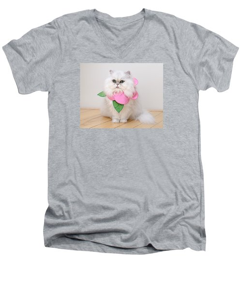 Pickles Men's V-Neck T-Shirt