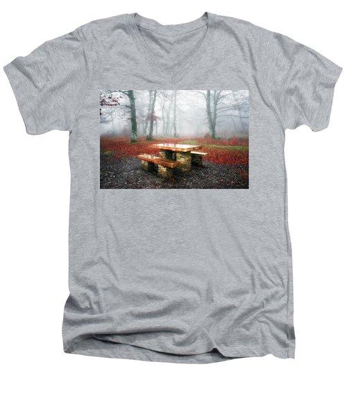 Picnic Of Fog Men's V-Neck T-Shirt