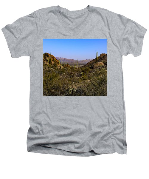 Picture Rocks 24 Men's V-Neck T-Shirt