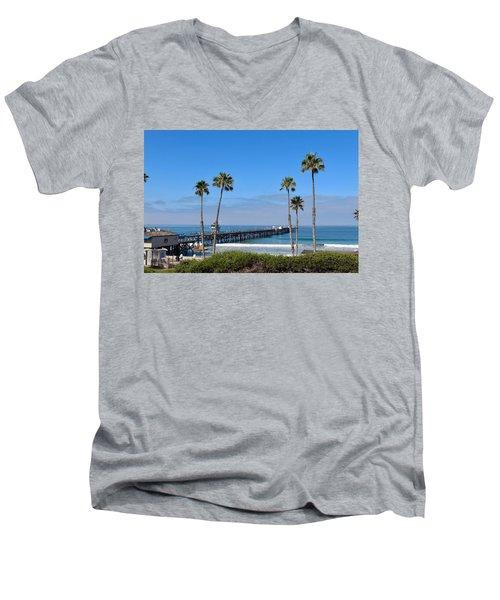 Pier And Palms Men's V-Neck T-Shirt