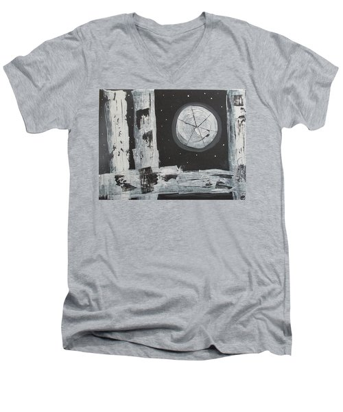 Pie In The Sky Men's V-Neck T-Shirt