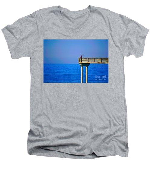 Pier Man Men's V-Neck T-Shirt