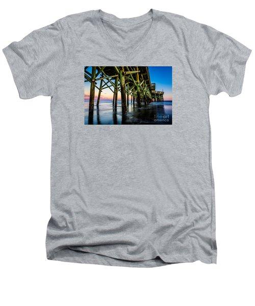 Pier Perspective Men's V-Neck T-Shirt