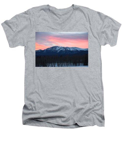 Sunrise Pikes Peak Co Men's V-Neck T-Shirt