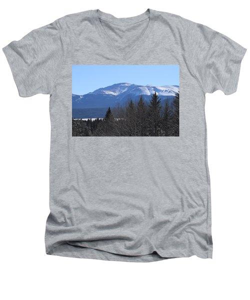 Pikes Peak Cr 511 Divide Co Men's V-Neck T-Shirt