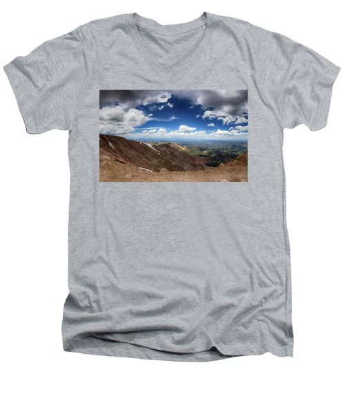 Pikes Peak Storm Men's V-Neck T-Shirt