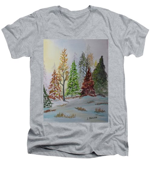 Pine Cove Men's V-Neck T-Shirt