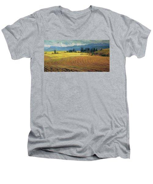 Pine Grove Men's V-Neck T-Shirt