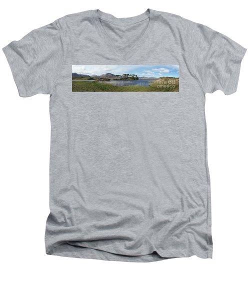Pine Island Men's V-Neck T-Shirt