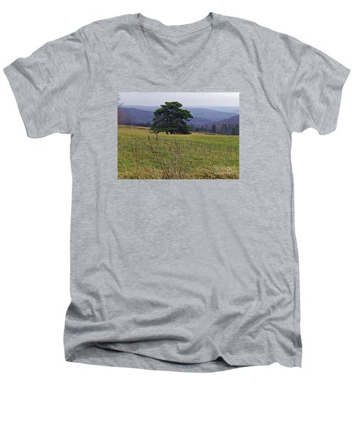 Pine On Sentry Men's V-Neck T-Shirt