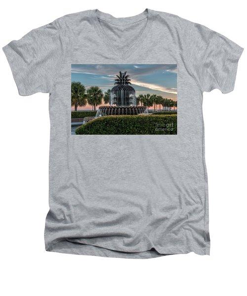 Pineapple Suprise Men's V-Neck T-Shirt