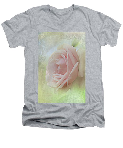 Pink Bliss Men's V-Neck T-Shirt