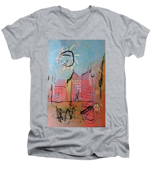 Pink City Men's V-Neck T-Shirt