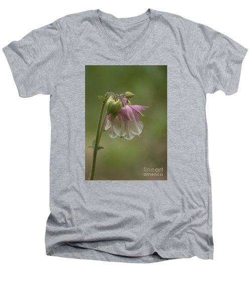 Pink Columbine 2015 Men's V-Neck T-Shirt