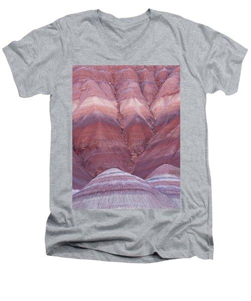 Pink Hills Men's V-Neck T-Shirt