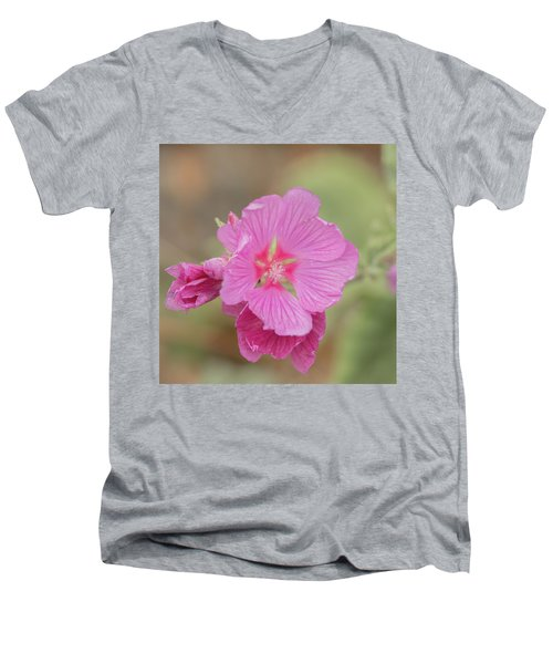 Pink In The Wild Men's V-Neck T-Shirt