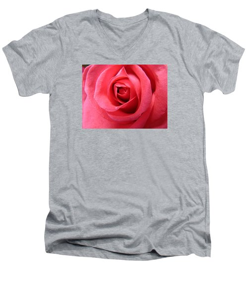 Pink Lady Men's V-Neck T-Shirt