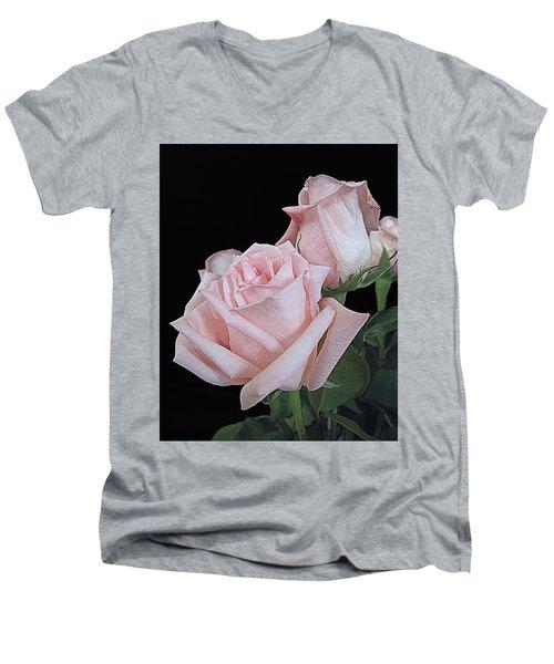 Pink Persuasion Men's V-Neck T-Shirt