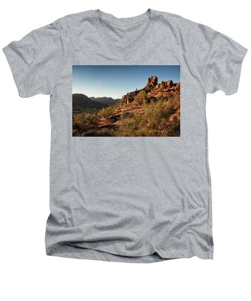 Pinnacle Peak  Men's V-Neck T-Shirt