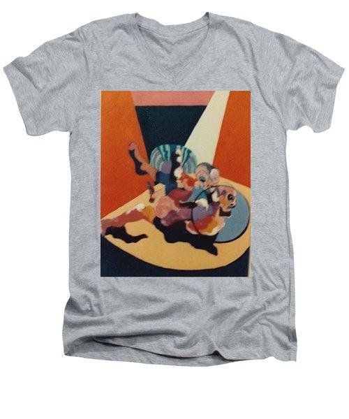 Pinned For The Win Men's V-Neck T-Shirt by Bernard Goodman