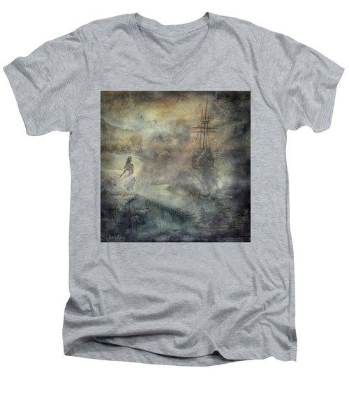 Pirates Cove Men's V-Neck T-Shirt