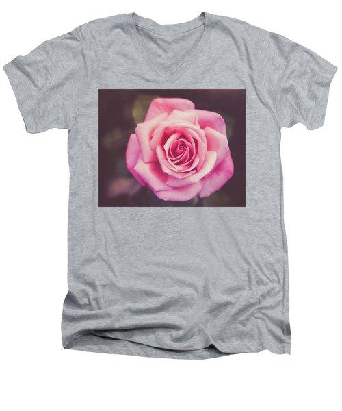 Men's V-Neck T-Shirt featuring the photograph Piroschka  by Ari Salmela