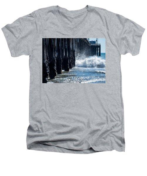 Pismo Pier Men's V-Neck T-Shirt