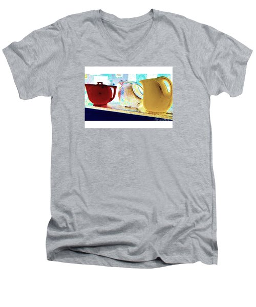 Pitchers Men's V-Neck T-Shirt