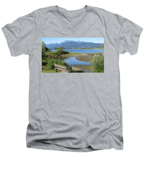 Pitt River Men's V-Neck T-Shirt