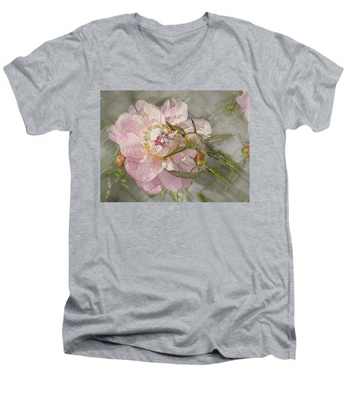 Pivoine Men's V-Neck T-Shirt
