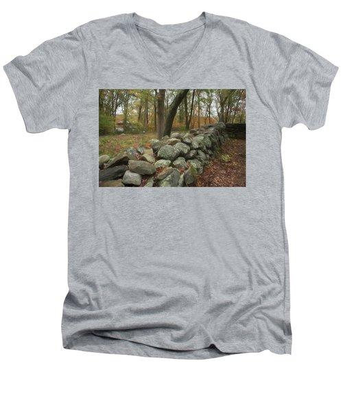 Place For A Hero Men's V-Neck T-Shirt