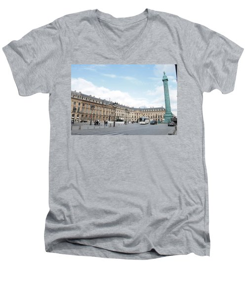 Place Vendome Men's V-Neck T-Shirt