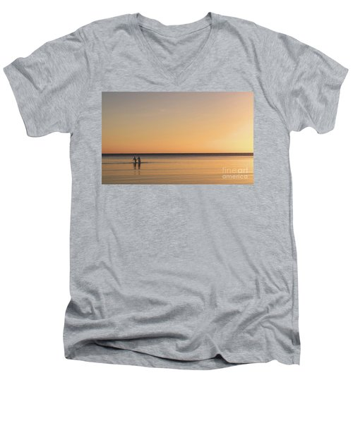 Placid Men's V-Neck T-Shirt