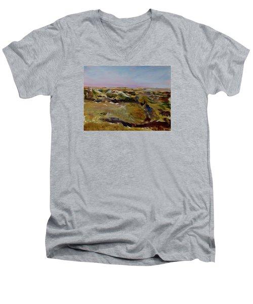 Coulee Evening Men's V-Neck T-Shirt