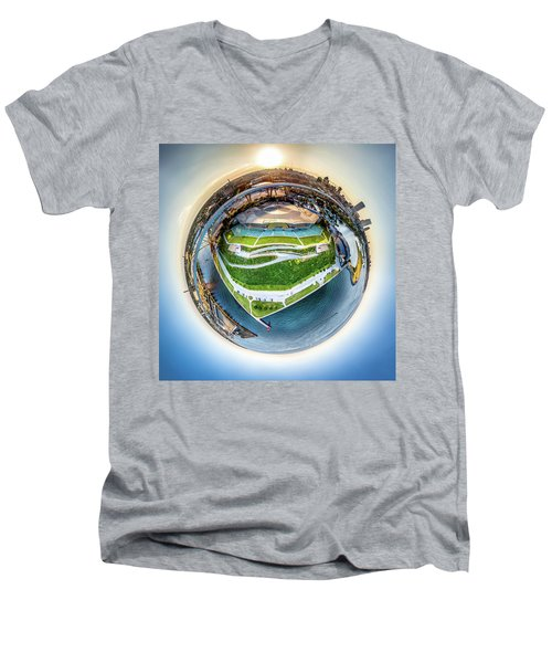 Planet Summerfest Men's V-Neck T-Shirt
