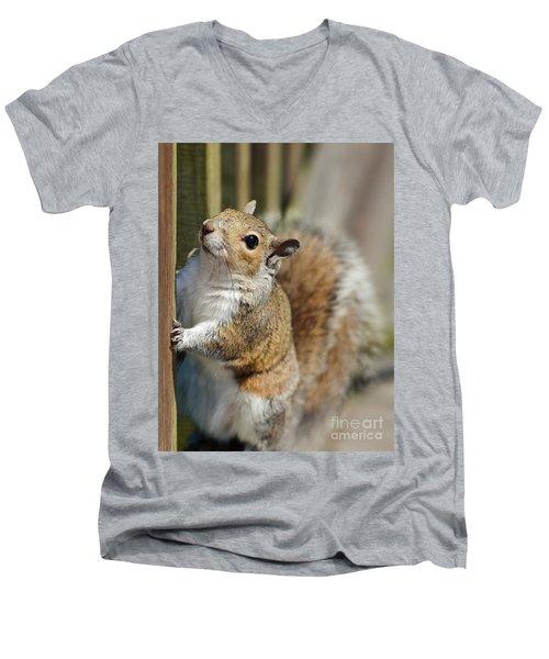 Planning My Escape Men's V-Neck T-Shirt by Pamela Blizzard