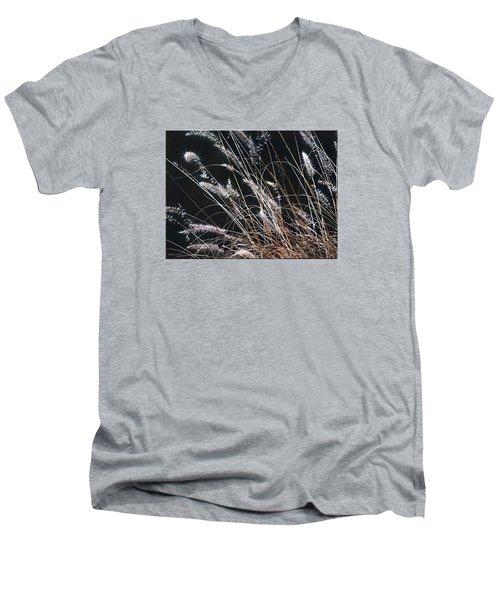 Plant Men's V-Neck T-Shirt by Mikki Cucuzzo