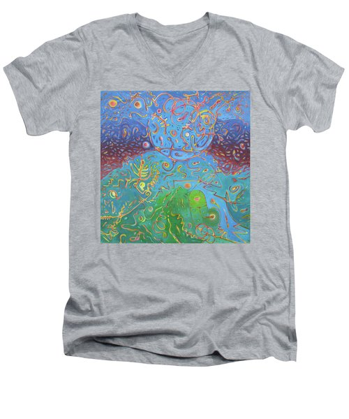 Plasma Men's V-Neck T-Shirt